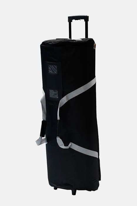 Disk textil väska
