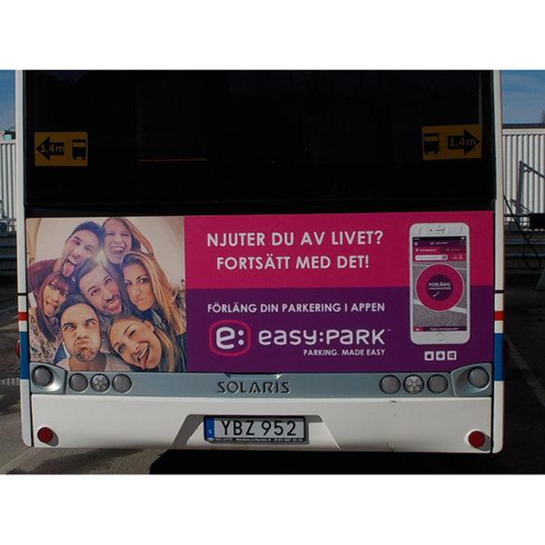 Bussreklam XL