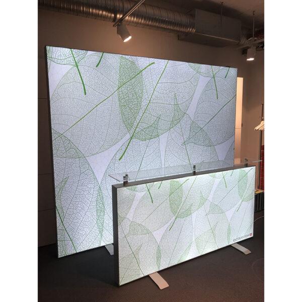 LED-belyst textil
