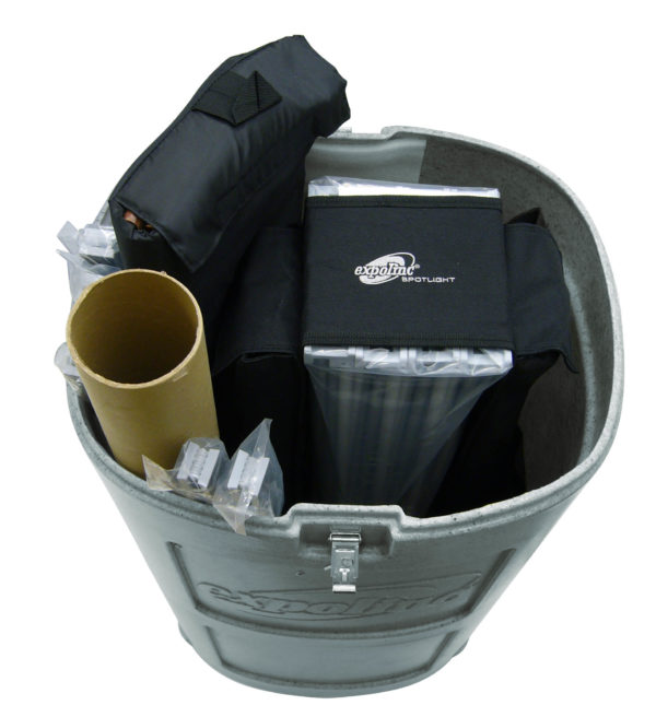Disk event transportbox