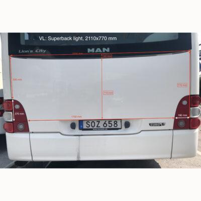 Reklam lokaltrafik VL