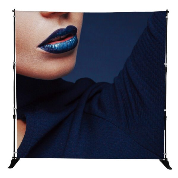 Textil storbild / fotobakgrund, portabel fondvägg