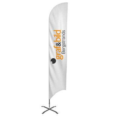 Beachflagga Haj Graf & Bild