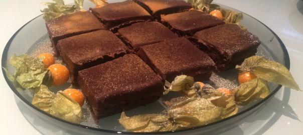 Chokladkladdkaka med lakrits